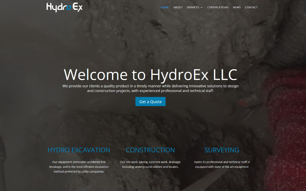 hydroex website